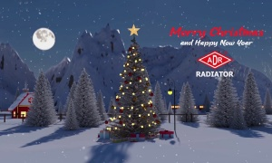 Merry Christmas & Happy New Year 2021 from ADR RADIATOR